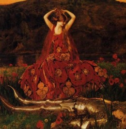 The painting by Frank Cadogan Cowper