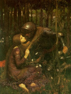 """La Belle Dame Sans Merci"" – a fatal attraction to a beautiful lady without pity"