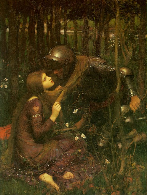 """La Belle Dame Sans Merci"" by John William Waterhouse, 1893"