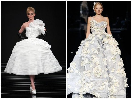 Two beauties from Dolce & Gabana- photo credit: onewed.com