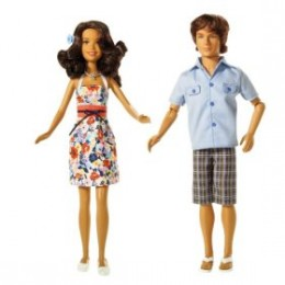 What better than a Troy Bolton and Gabriella Montez doll set?