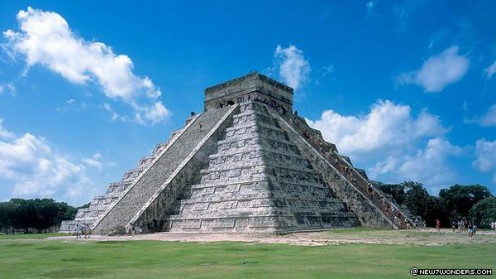 The Pyramid at Chichn Itz (pre 800 A.D.)   Yucatan Peninsula, Mexico