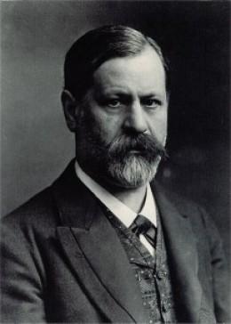 Dr. Sigmund Freud (1856-1939), neurologist, founded the psychoanalytic school of psychiatry