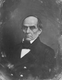 Daniel Webster (1782-1852) American statesman