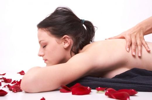 Aroma massage girl