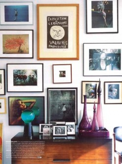 How to Hang Framed Pictures on Walls