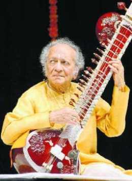 Pandit Ravishankar ,who popularised sitar in the whole world
