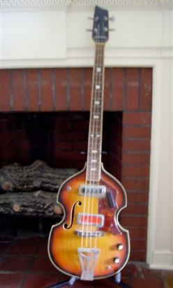 My Old Sorento Beatle Bass Guitar