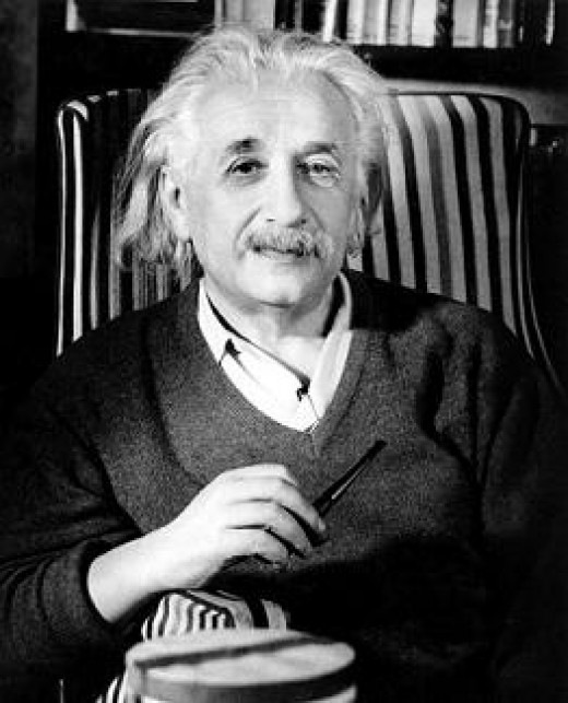 Albert Einstein old age