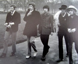 The Stones and Brian (at right) in 1967