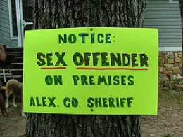 Sex offender Poster 1
