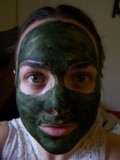Spirulina Face and Body Mask How-to and Review