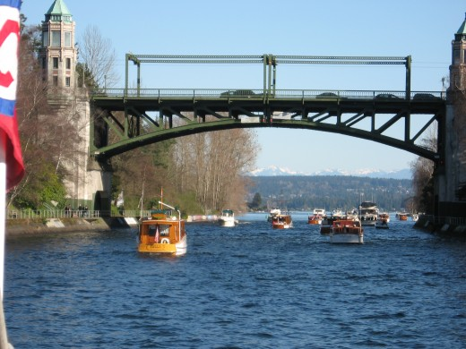 The Montlake Bridge