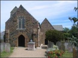 St Sampson's Church where Linda Martel is buried.