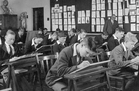 SCHOOL IN THE 1950s