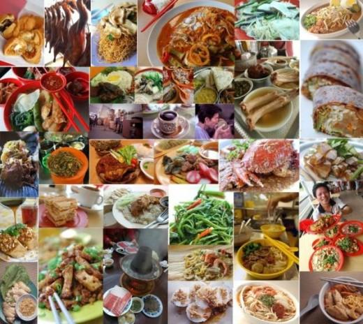 Foods in Singapore