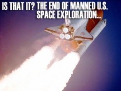 THE END OF THE U.S. MANNED SPACE AGE