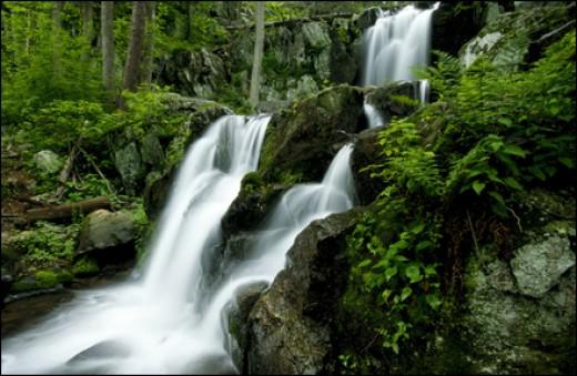 A Shenandoah Park Waterfall