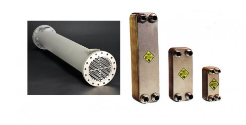 Shell and Tube, Plate Heat Exchangers
