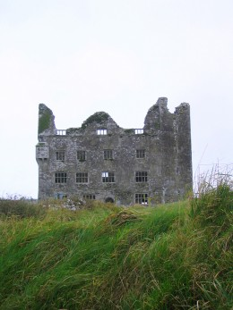 Leamanagh Castle in County Clare