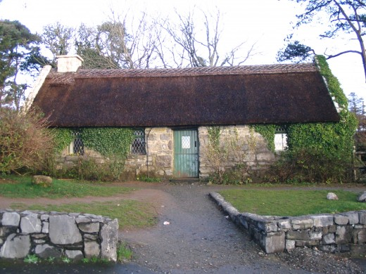 """The Quiet Man"" Cottage Replica"