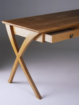 Humby oak desk