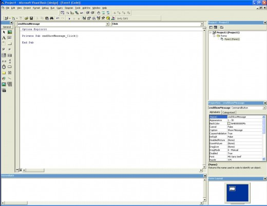 Adding simple code to your Visual Basic application