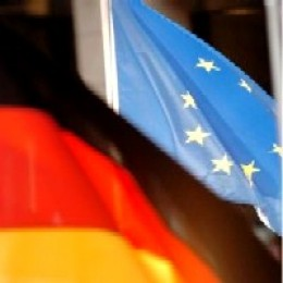 Flag of Germany and the European Union