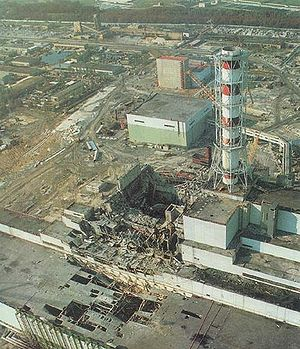 This is picture of Reactor 4 at Chernobyl after the worst Nuclear Power Plant accident in the world.
