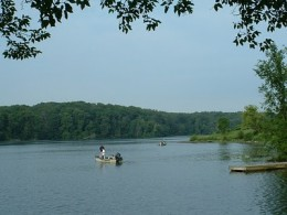 Lake Carlton, a stream fed resevoir in Morrison-Rockwood State Park, is named in memory of L. Carlton Anderson, a local civic and conservation leader.
