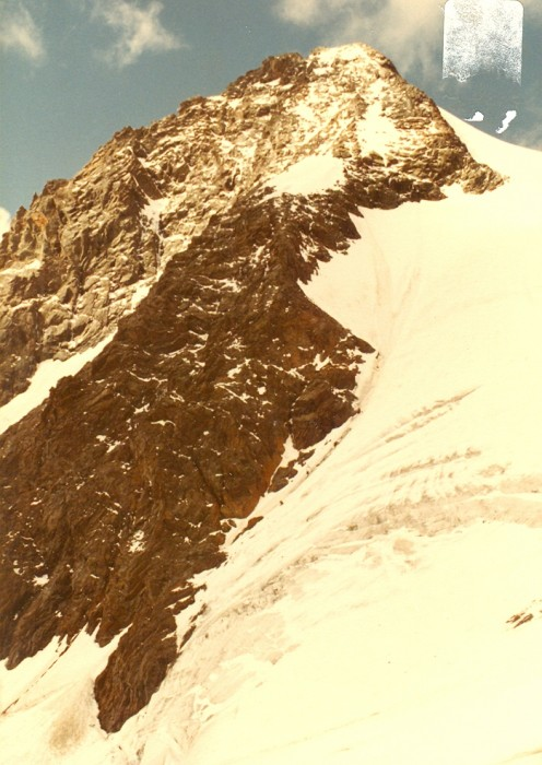 The Kleinglockner (3770 meters) from Adlersruhe.
