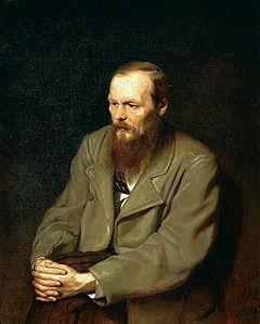 Fyodor Mikhaylovich Dostoyevsky (1821-1881) Russian writer and essayist