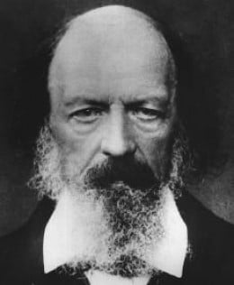 Alfred Tennyson (1809-1892) Poet Laureate of the United Kingdom