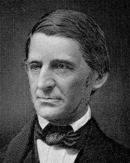 Ralph Waldo Emerson (1803-1882) American essayist, philosopher, and poet