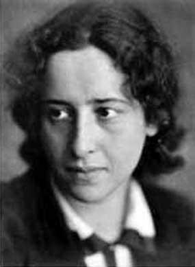 Hannah Arendt (1906-1975) German political theorist