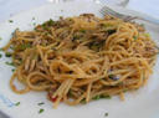 Anchovy Pasta