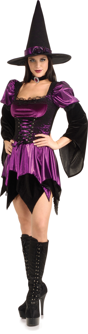 Lovely witch costume in UK dress size 14 - 16