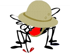 Harvey Flea is the world's first mosquito who is also a travel writer.  Interesting.