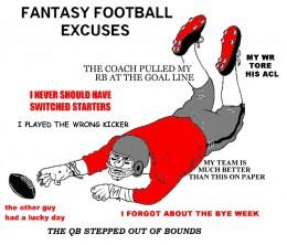FFL Excuses