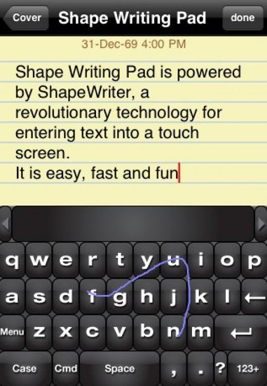 ShapeWriter