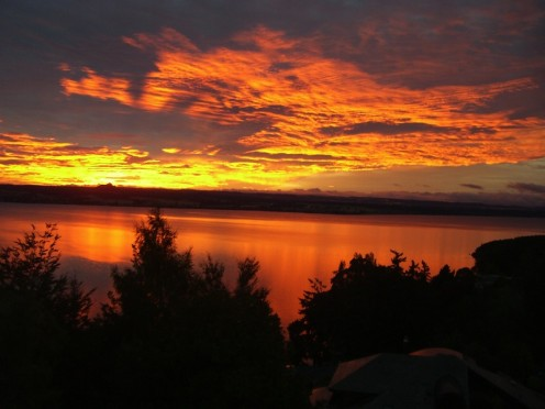 Dawn at Lake Taupo. Promise of a new Day!