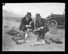 Evidence found of dynamite in the Owens Valley-                circa 1924