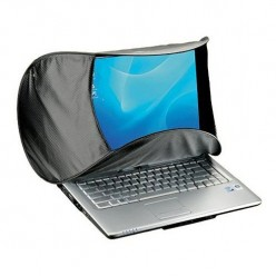 HoodPC Shades Laptop Screen from Sun and Glare