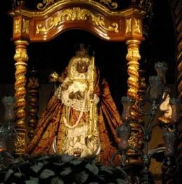 Black Madonna in Candelaria