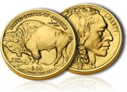 24k American Buffalo Gold Coin