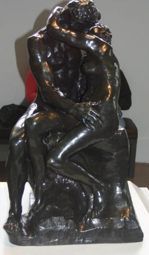 The Kiss by Auguste Rodin, Leland Stanford, Jr. Museum   deedsphoto+