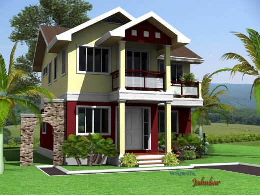 Simple Modern Homes and Plans by Jahnbar | Owlcation on outside of house wallpaper, outside of house drawing, outside of beach house, outside of house plans, out house design, cleaning design, outside of house decorations, inside of house design, dining room design,