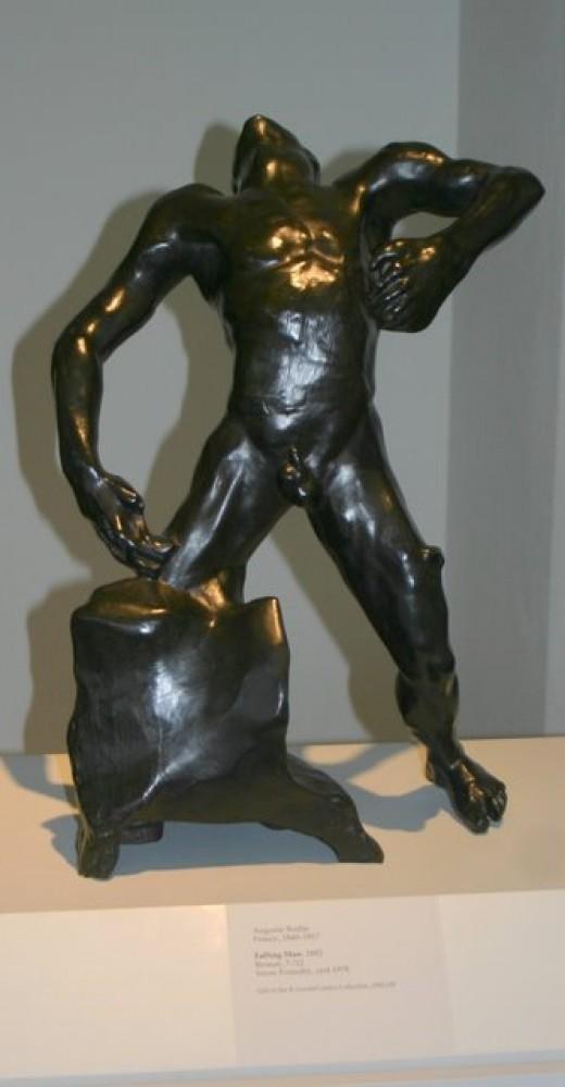 Falling Man, Auguste Rodin, Leland Stanford, Jr. Museum, deedsphoto