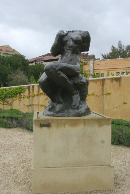 Auguste Rodin Sculpture, Sculpture Garden, Leland Stanford, Jr. Museum deedsphoto