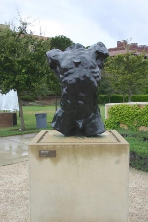 Rodin sculpture, Leland Stanford, Jr. Museum    deedsphoto